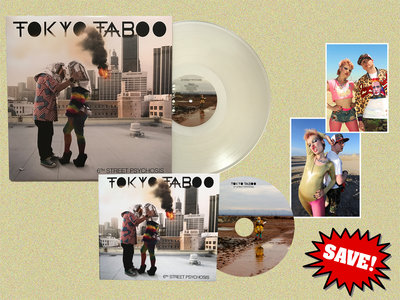 6th Street Psychosis LP (Exclusive Ice White Vinyl) + CD Album + Two Exclusive Signed Art Prints main photo
