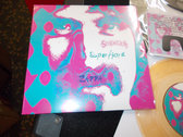 "SENDELICA / SUPERFJORD ZAPPA SPLIT 7"" ORANGE VINYL LTD EDT WITH MOUSTACHE photo"