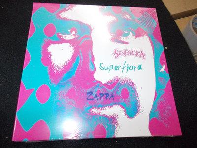 """SENDELICA / SUPERFJORD ZAPPA SPLIT 7"""" ORANGE VINYL main photo"""