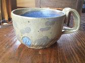 Mug #1: green and blue photo
