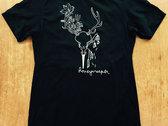 Skull & Flowers T-Shirt photo