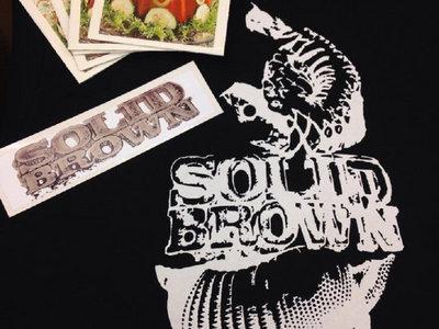 T-Shirt Merch Pack (CD & Stickers) main photo