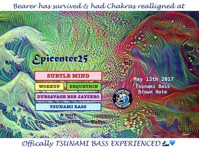 #Epicenter25 - Tsunami State of Mind Sticket main photo
