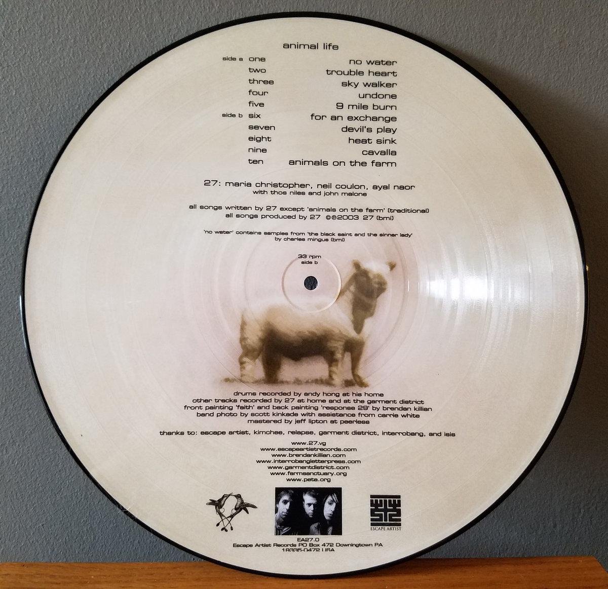 animal life in Artis Verkade album ANIMALS