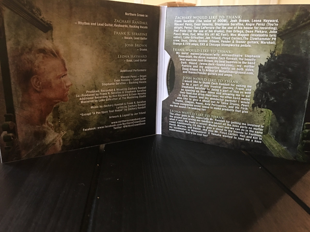 The Others Northern Crown Bansheewerkscom Frivolities Geetar Finally Is Available On Cd In A Cool Lp Style Gatefold Card Case This Limited Release So Make Sure To Get Yours Asap