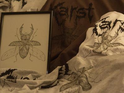Stag Beetle Design T-shirt main photo