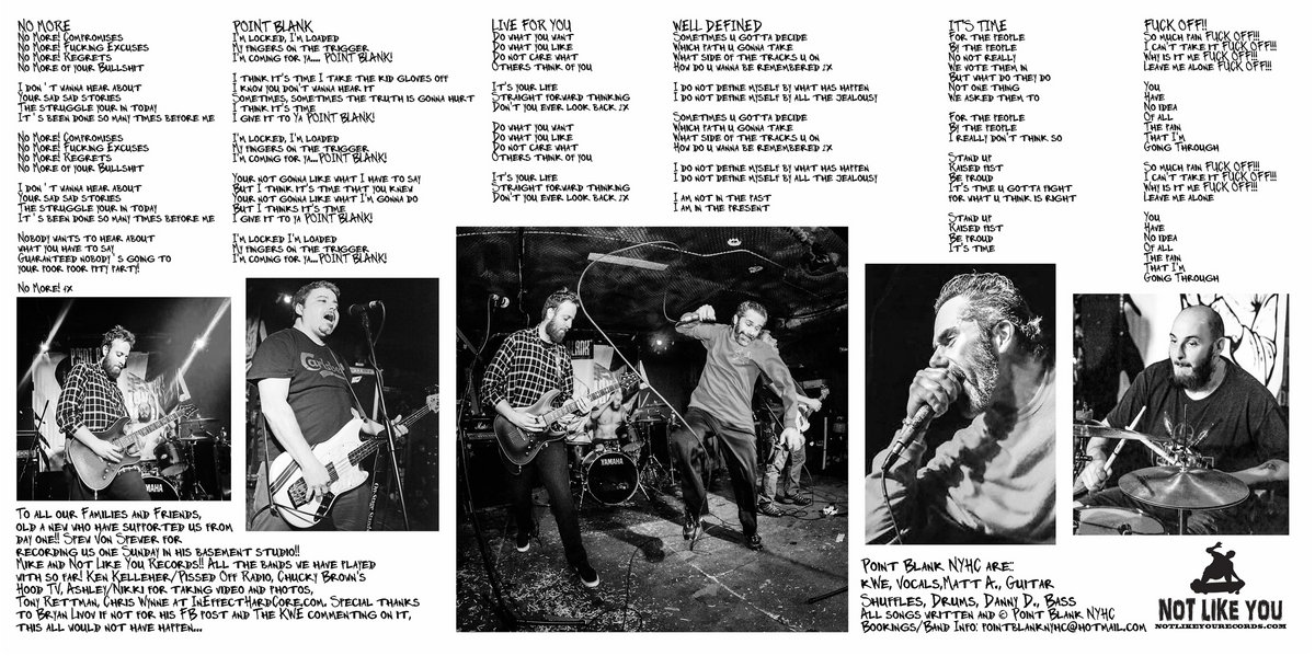 Point Blank | Point Blank NYHC