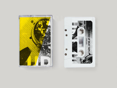 Bundle: Wound Up Beat Tape 2  Cassette + A3 Risograph Poster main photo