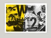 Bundle: Wound Up Beat Tape 2  Cassette + A3 Risograph Poster photo