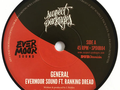 """Evermoor Sound - General ft. Ranking Dread / Melodica Cut (7"""") main photo"""