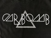Triangle Logo Black Fitted T-Shirt photo