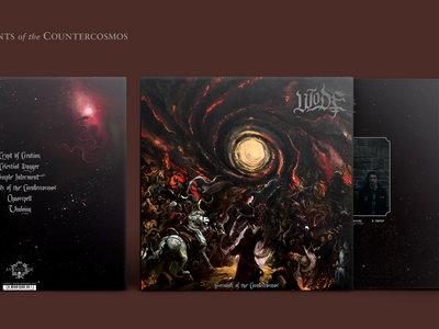 Wode 'Servants of the Countercosmos' OxBlood Red vinyl LP main photo