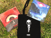 "PACK BAG FAN : Tote Bag + 2 colored vinyl 12"" + poster photo"