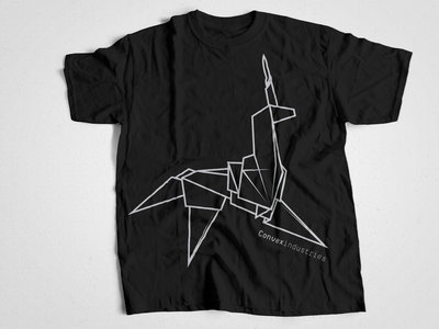 "Convex Industries ""Origami"" T-Shirt - Black main photo"