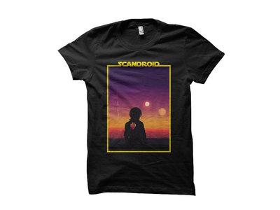 Scandroid - Binary Sunset T-Shirt main photo