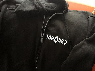 Torqued Zipped Hoodie main photo
