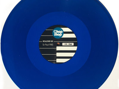 Chopshop Record Store Day 2017 Limited Edition Hand Numbered Blue Vinyl main photo