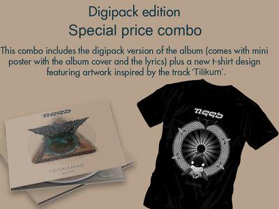 Hegaiamas Digipack Combo (cd+t-shirt) Tilikum main photo