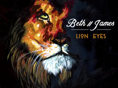Lion Eyes Sticker main photo