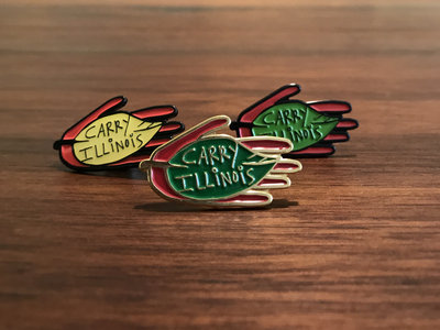 Carry Illinois Ltd. Edition Enamel Pin main photo