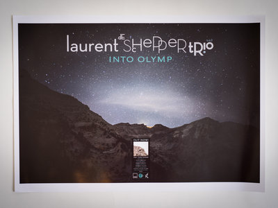 INTO OLYMP - limited edition signed poster / print main photo