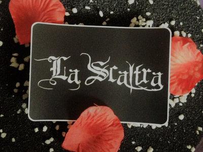 """Sticker Logo """"La Scaltra"""" main photo"""