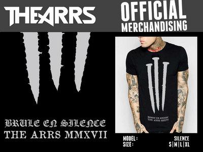 """T-shirt """"Silence"""" DERNIERES PIECES main photo"""