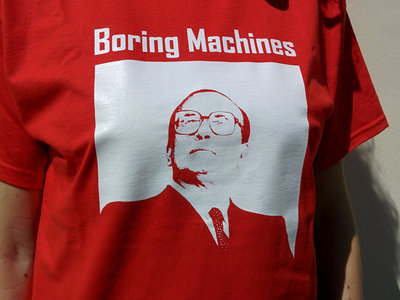 "Boring Machines ""Boring Bettino"" t-shirt main photo"