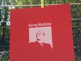"Boring Machines ""Boring Bettino"" screenprinted poster photo"