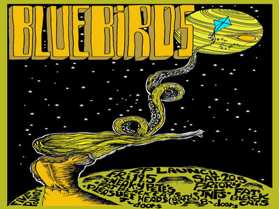 Ticket > CSC Presents: Bluebirds EP Launch 'There Is No God' *Edinburgh* main photo