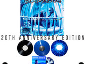 vintage*Goldyn Chyld tee (size XL) &  Classic SOUL ON ICE: Revisited Vinyl in Blue Splatter photo