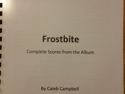 Frostbite - Complete Sheet Music main photo