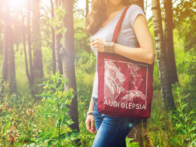Cotton Tote Bag with Muses artwork main photo