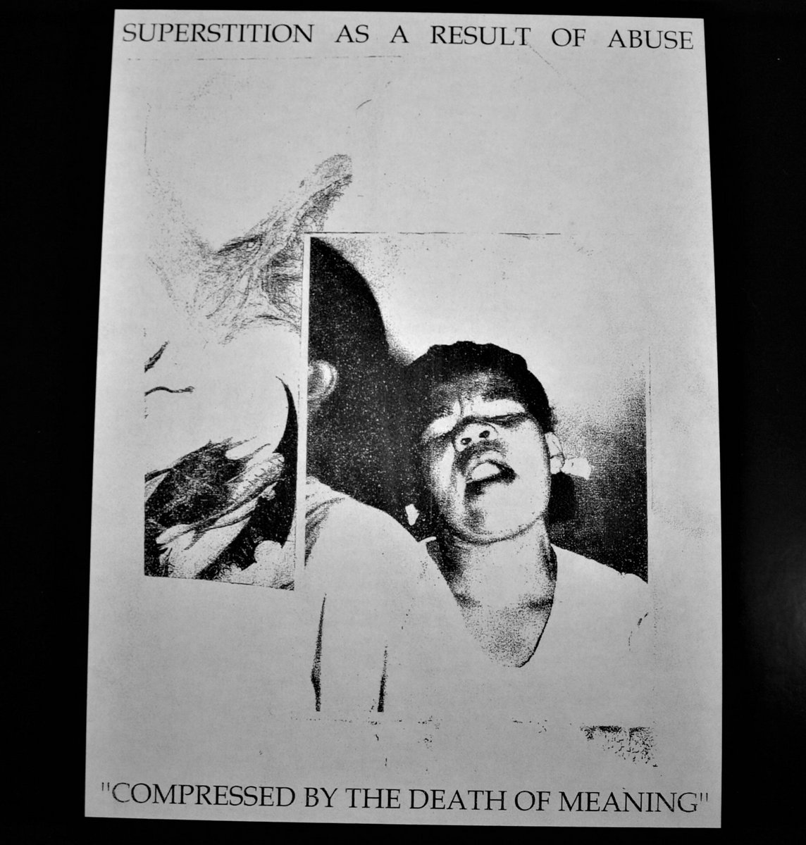 superstition as a result of abuse compressed by the death of