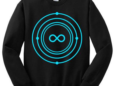 Infinite Machine Crewneck / Blue Logo on Black main photo