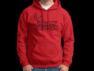 Retro logo Hoodie - Red main photo