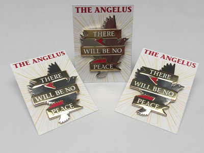 "There Will Be No Peace 1"" Enamel Pin main photo"