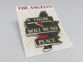 "There Will Be No Peace 1"" Enamel Pin photo"