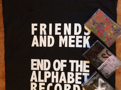 """Friends and Meek"" Triple Tape Set and Tote Bag (NZ / NOR / UK) main photo"