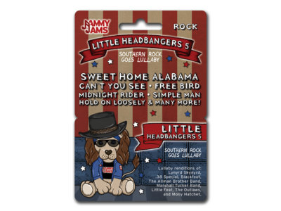 Little Headbangers 5: Southern Rock Goes Lullaby - Download Card main photo