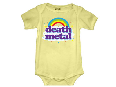 "Death Metal - ""Rainbow"" - Onesie main photo"