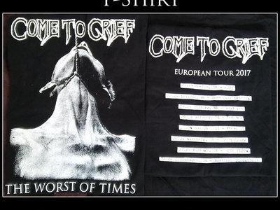 "Come to Grief - ""European Tour 2017"" T-Shirt (MEDIUM ONLY) main photo"