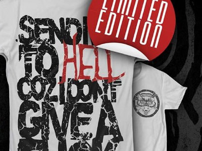Black Tongue - Send Me To Hell Exclusive T Shirt (BLACK VERSION) main photo