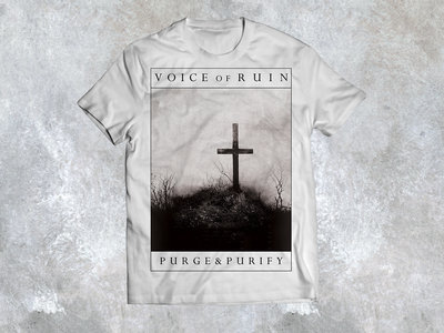 "T-Shirt ""Cross"" (white) main photo"