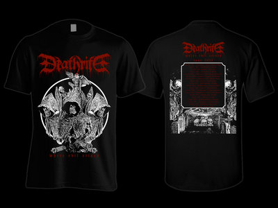 """DEATHRITE -""""Where Evil Arises """" Tour Shirt main photo"""