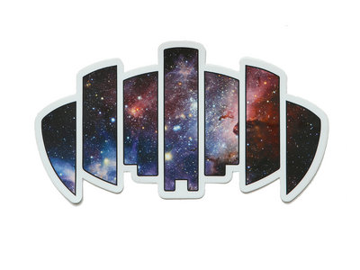 Dopapod Palindrome Galaxy Sticker main photo