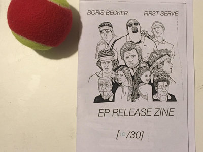 'FIRST SERVE' Limited Edition Zine main photo