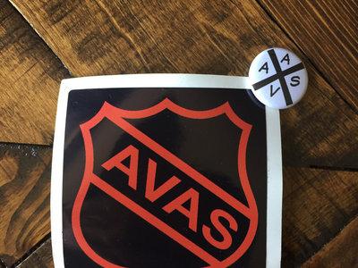 AVAS sticker and badge main photo