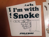 Steele Wars NEW sticker 8 pack $4.50 USD / $6 AUD photo