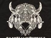 GoatHawkBuffalo Logo black t-shirt photo